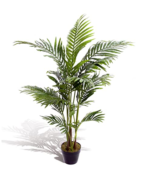 best artificial 120cm 4ft areca palm tree tropical office