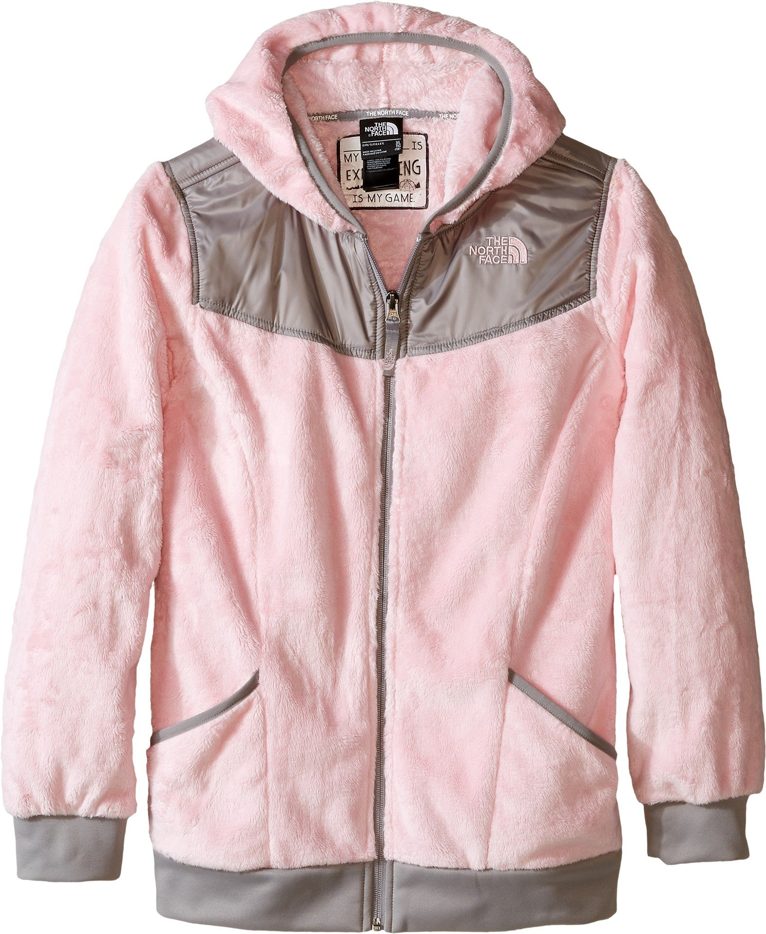 The North Face Kids Girl's OSO Hoodie (Little Kids/Big Kids) Coy Pink (Prior Season) X-Large