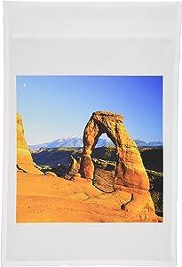 3dRose fl_55264_1 Utah Arches National Park Garden Flag, 12 by 18-Inch