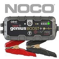 NOCO GB40 Genius Ultrasafe Démarreur/Chargeur De Batterie Lithium, 12V, 1000Amp