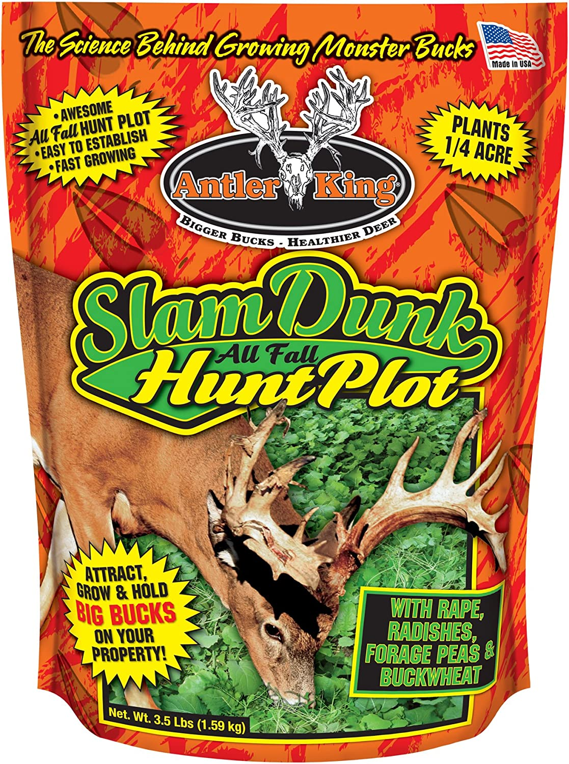 Antler King Slam Dunk Hunt Plot Attractant