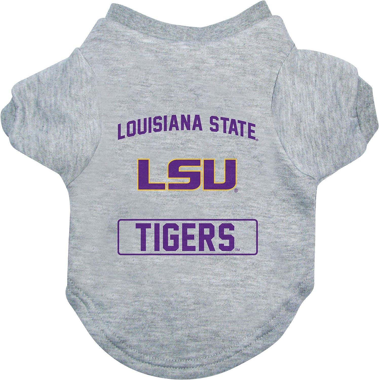 Littlearth NCAA LSU Tigers Pet T-Shirt