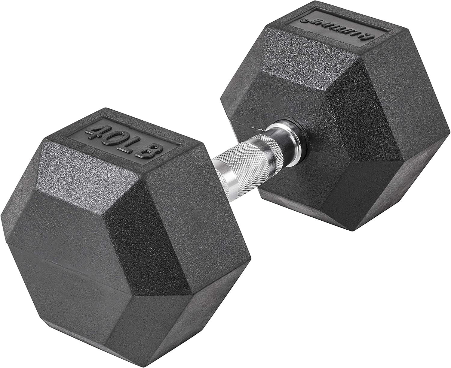Lifeline Hex Dumbbells Premium Quality, Low Odor, and Ergonomic Knurled Handle