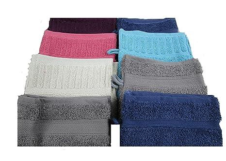 Vandenhove - Juego de toallas de mano, 100% algodón, 100%
