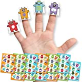 Box Buddies Papercraft Finger Puppets - Monster Party Bag Fillers