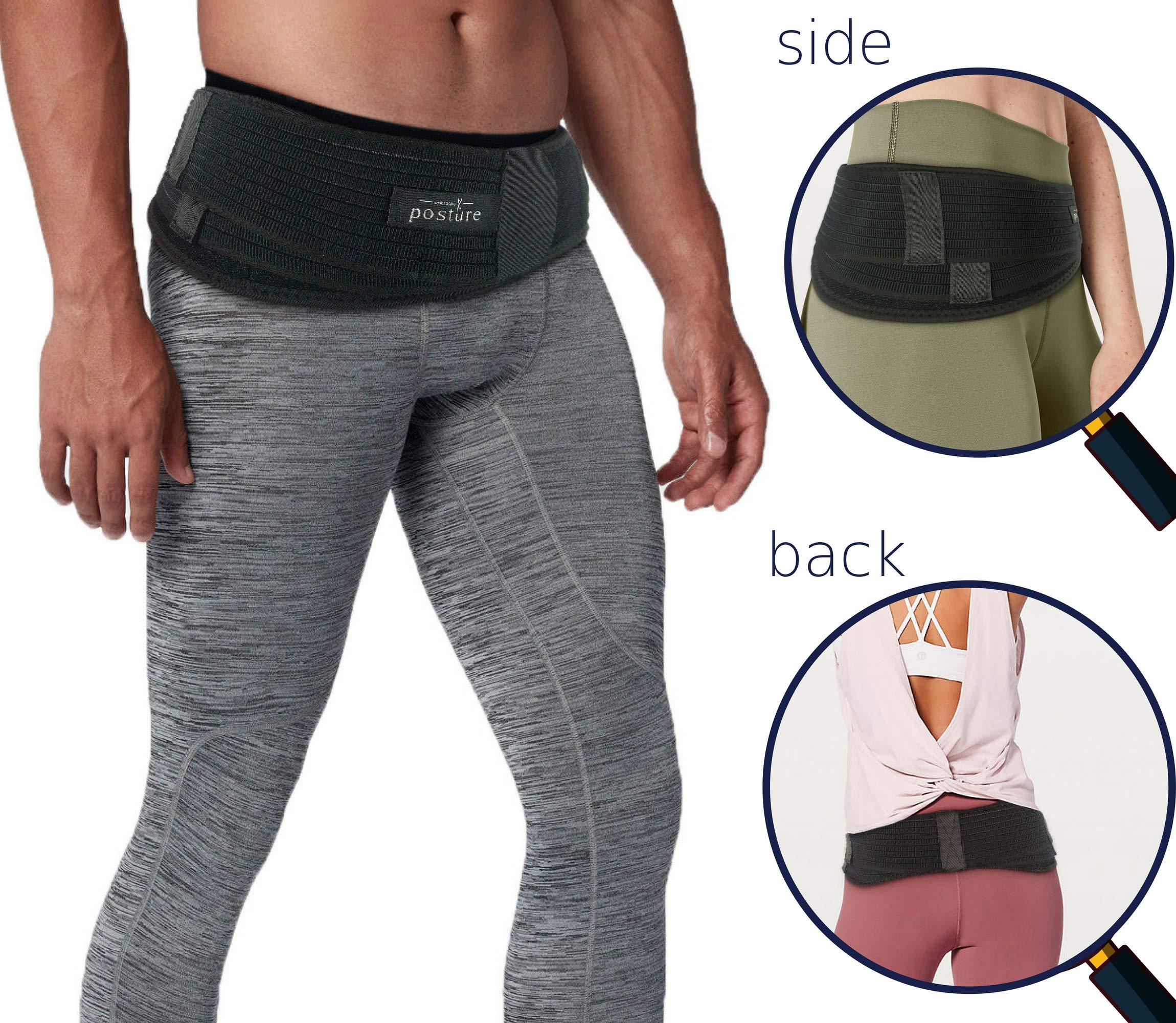 Vriksasana Si Belt for Men and Women That Treat Sciatica, Including Pelvic, Back and Leg Pain Nerve Pain, Stabilize Sacroiliac Joint | Trochanter Brace | Anti-Slip and Pilling-Resistant (REGULAR SIZE)