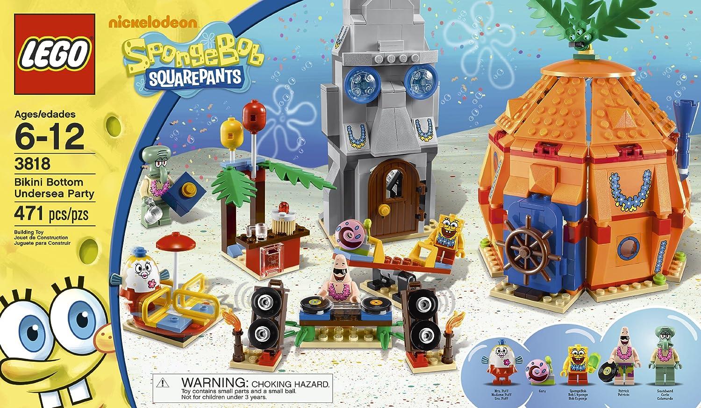 Amazon Lego Spongebob Bikini Bottom Undersea Party 3818 Toys