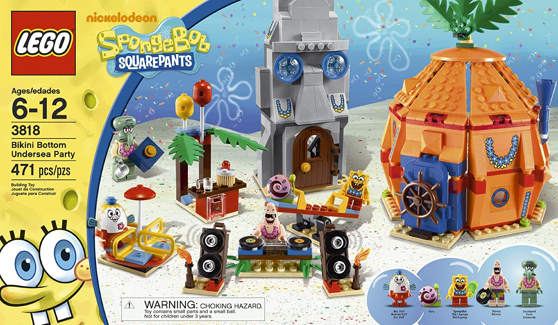 bikini bottom legos Spongebob