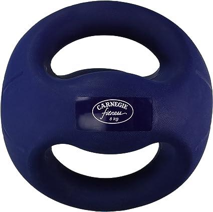 Carnegie 6 kg de Fuerza de fútbol balón Medicinal con Asas Fitness ...