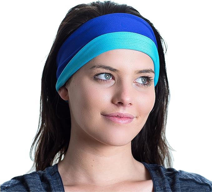 Sportschweißbänder-Workout Yoga Running Unisex Haarband Anti-Rutsch-Stirnband