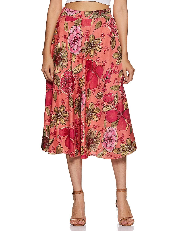 Styleville.in Women's A-Line Midi Skirt