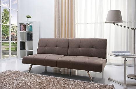 Enjoyable Gold Sparrow Victorville Foldable Futon Sofa Bed Mocha Spiritservingveterans Wood Chair Design Ideas Spiritservingveteransorg