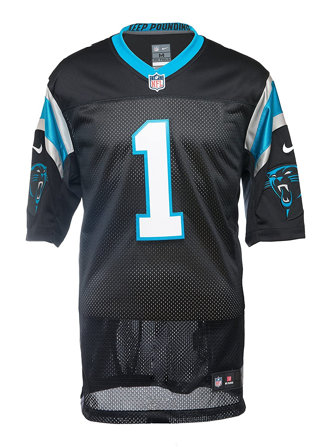 367349e33a8 Amazon.com : Nike Men's Carolina Panthers Cam Newton Limited (Stitched) NFL  Jersey : Sports & Outdoors