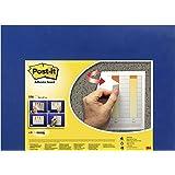 Post-it Adhesive Memo & Notice Board - Navy Blue - 58 cm x 46 cm