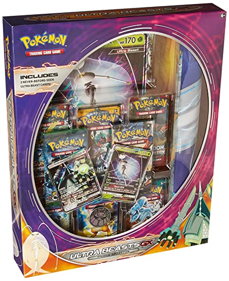 7866a8f80a8b2f Amazon.com: Pokemon TCG: Ultra Beasts Premium Collection - Pheromosa-GX:  Toys & Games