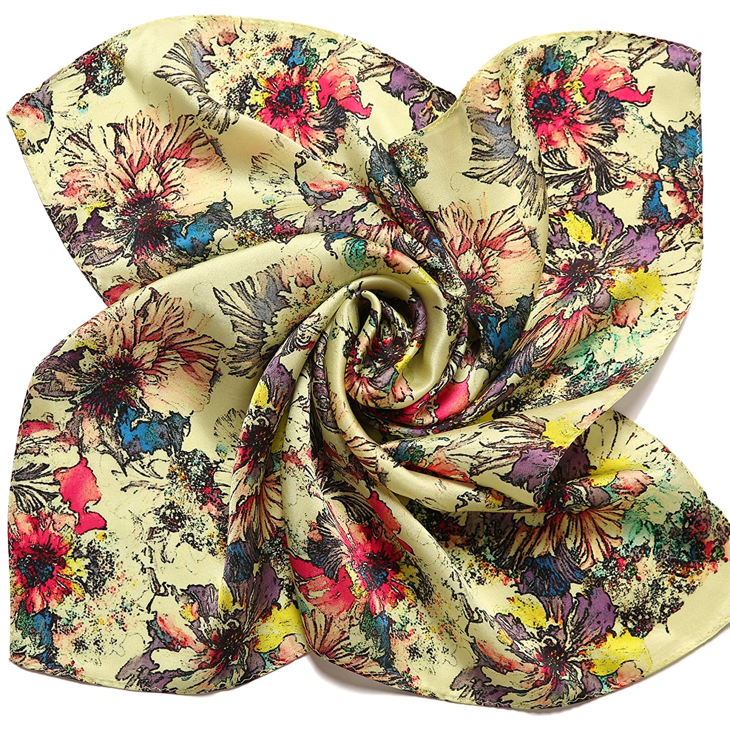 Luciphia ACCESSORY レディース B075WPX32B One Size|Floral-9 Floral-9 One Size