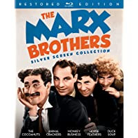The Marx Brothers Silver Screen Collection on Blu-ray
