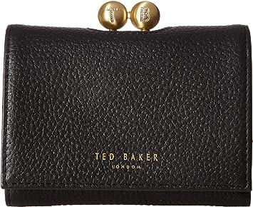 e84e9ce09321 Ted Baker Maciey Black Drukknop Portemonnee TB153247B  Amazon.de ...