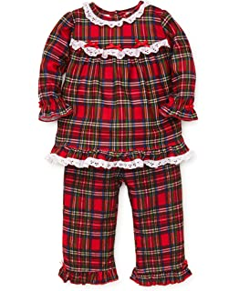 9171df8b4 Amazon.com: Little Me Girls Christmas Pajamas - Infant or Toddler ...