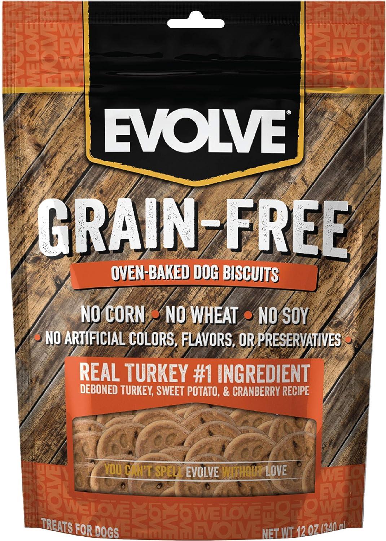 Evolve Pet Food Dog Biscuits
