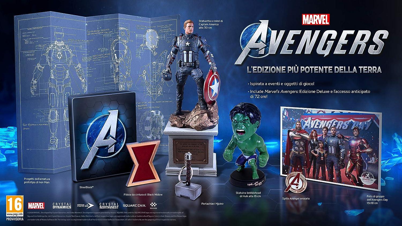 marvel's avengers collector's edition contenuti e prezzo