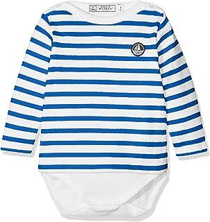 Petit Bateau Body Mariniere Ml, Unisex bebé