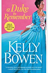 A Duke to Remember (A Season for Scandal Book 2) Kindle Edition