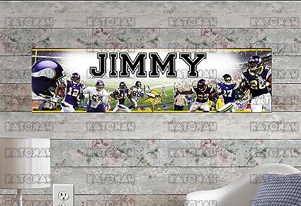 Amazon Com Customized Name Painting Minnesota Vikings
