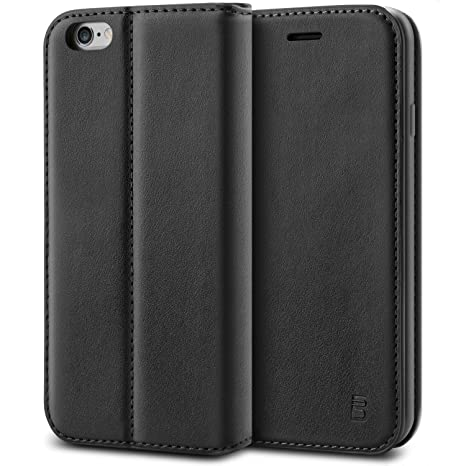 coque iphone 6 clapet noir