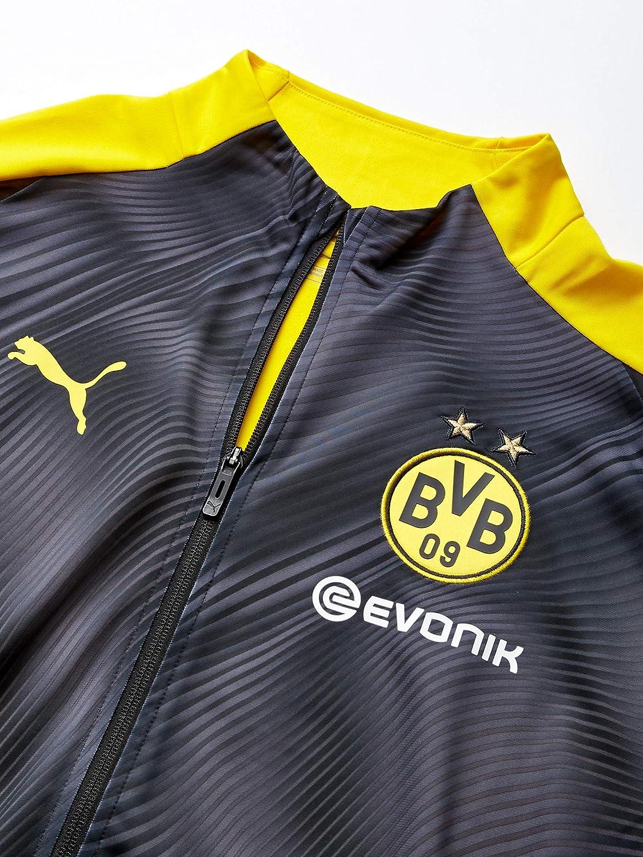 PUMA Mens BVB League Stadium Jacket with Evonik