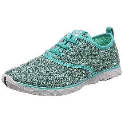 ALEADER 4562320452601 [Leader] Men's Marine Sports Sandals Jogging Shoes Amphibious Ventilation, Green: Home & Kitchen
