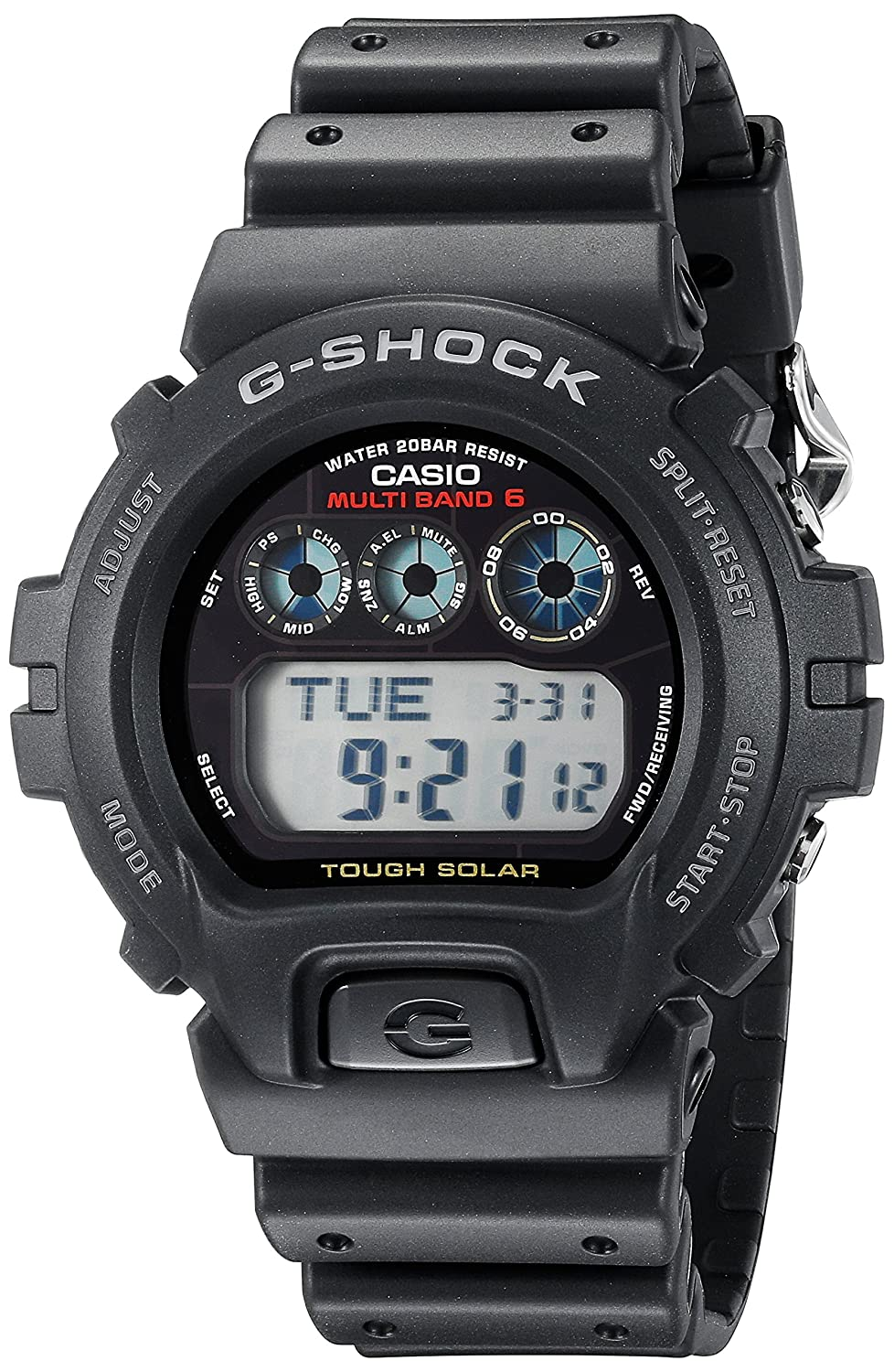 Casio Caballero G-Shock GW6900-1 Black Resin Quartz Reloj with Black Dial: Casio: Amazon.es: Relojes