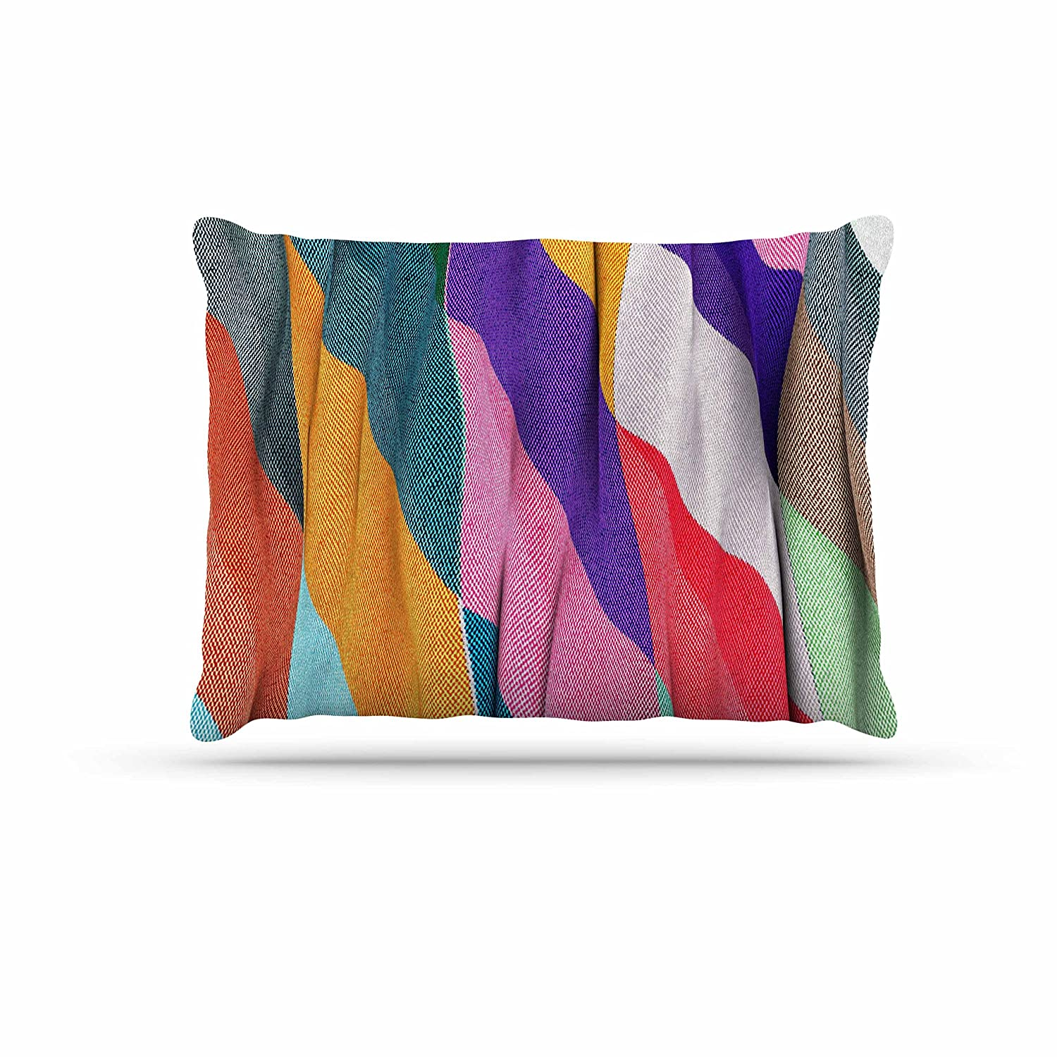 KESS InHouse Danny Ivan Excuse Me Multicolor Abstract Dog Bed, 50  x 40