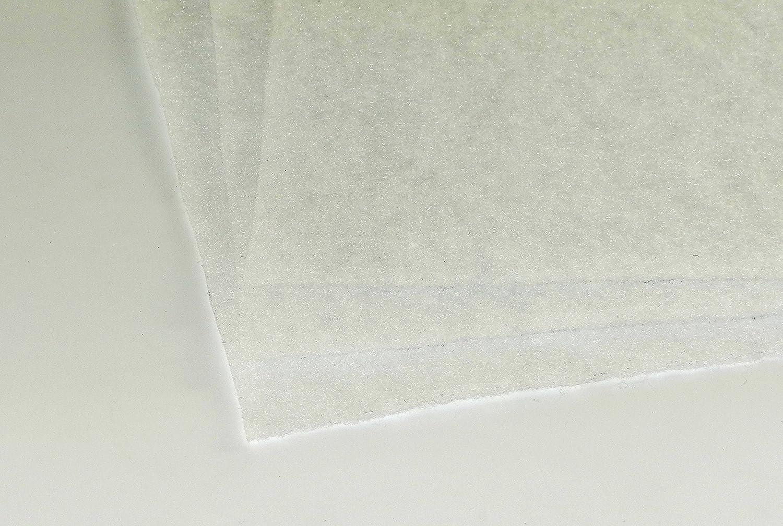 Filtermatte G2 ca 1mx1m ca 1-3 mm 50g//m/² dick Filter Staub L/üftung Klima Dunstabzugshaube-Vorfilter Badl/üfter Ventilator L/üfter Heizung Kompressor