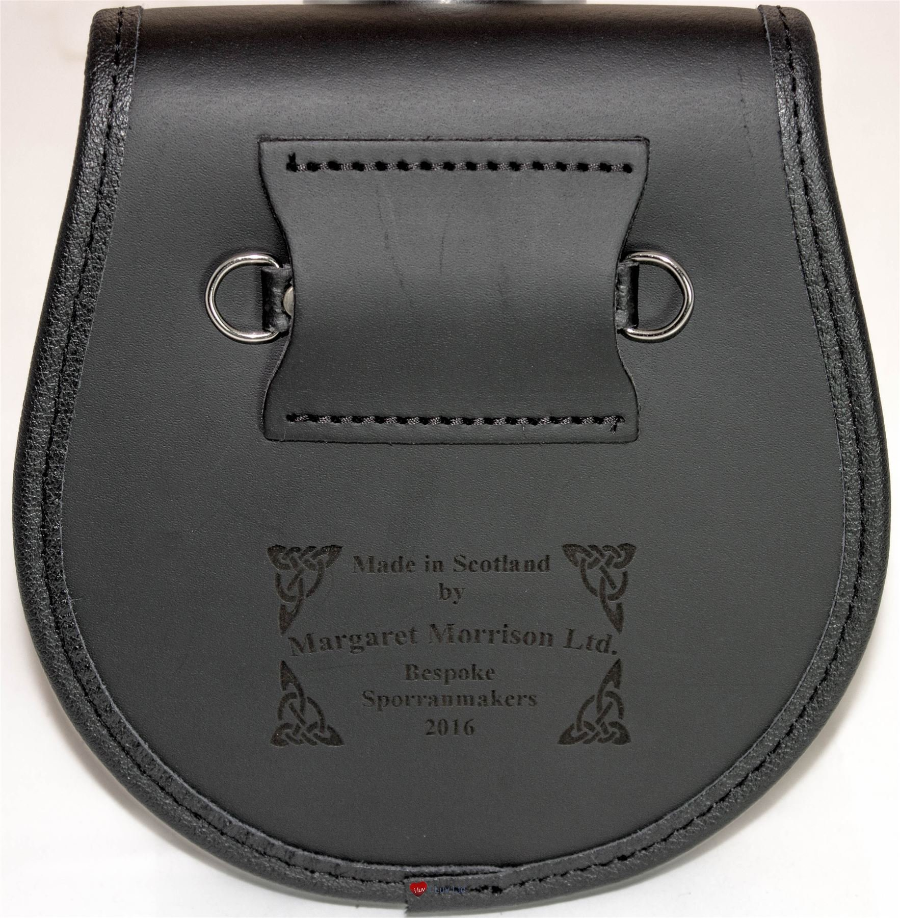 Campbell of Cawdor Leather Day Sporran Scottish Clan Crest by iLuv (Image #3)