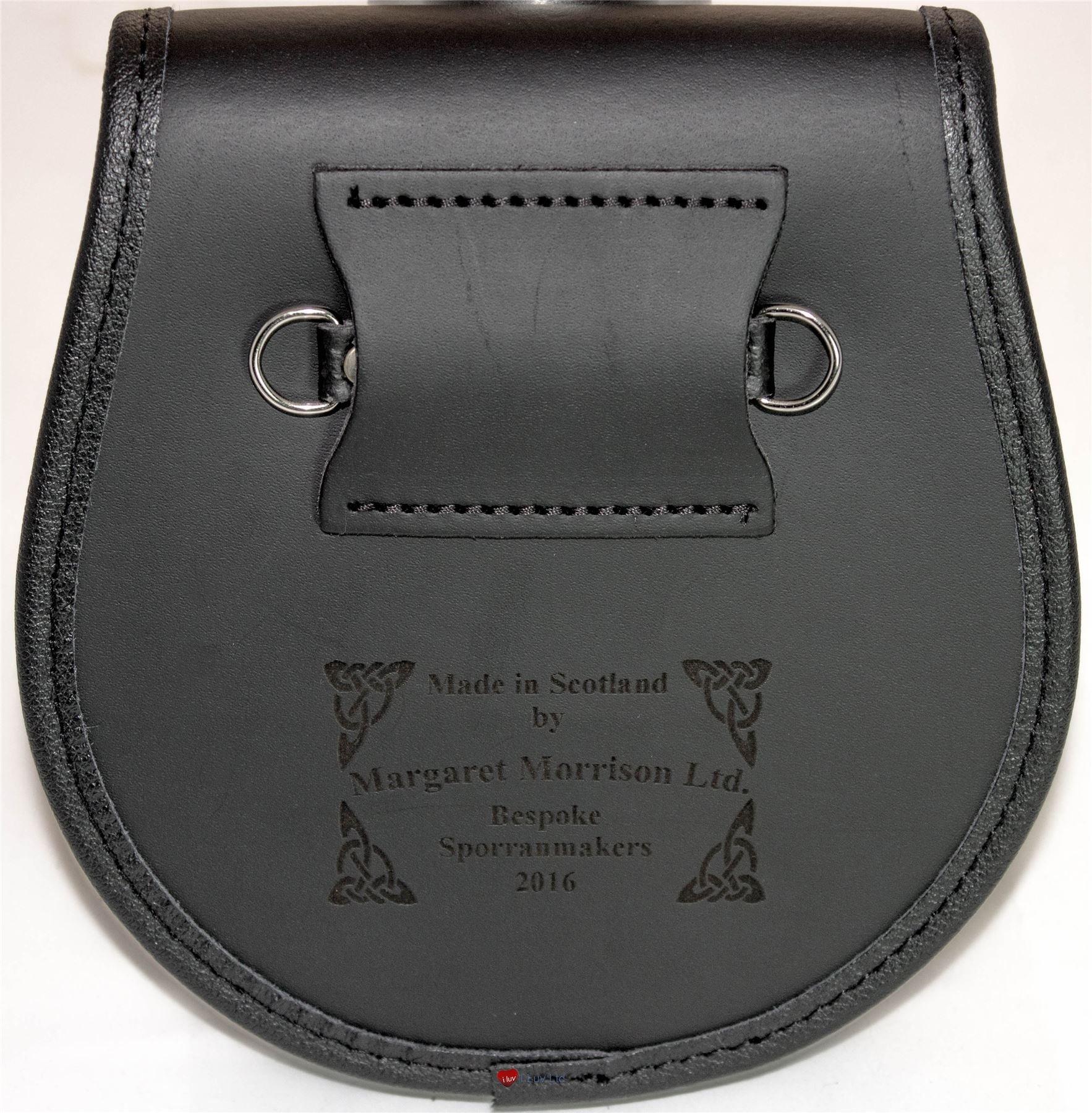 Love Leather Day Sporran Scottish Clan Crest by iLuv (Image #3)