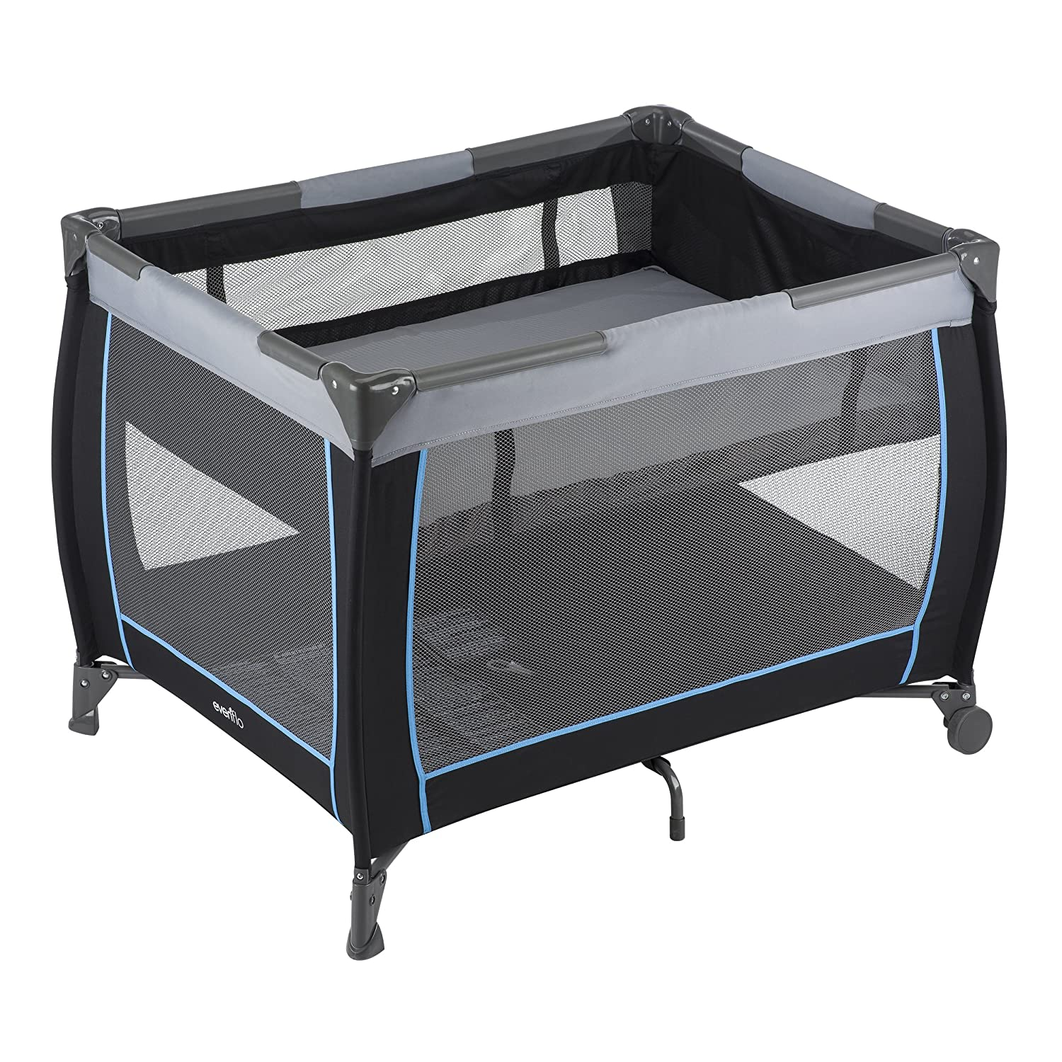 Evenflo Arden Playard, Black/Blue, One Size 70511936