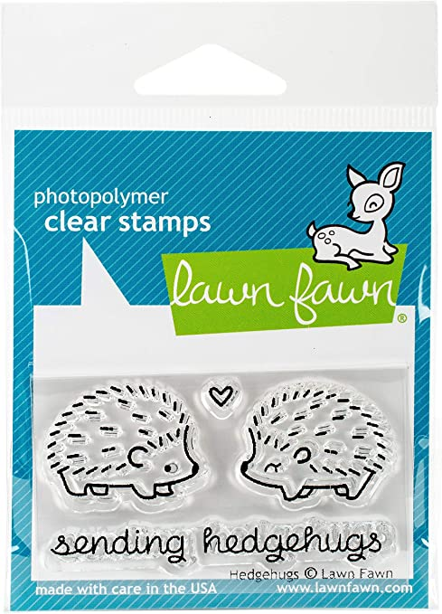 Hedgehugs LF729 Lawn Fawn Clear Stamps