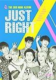 3rdミニアルバム - Just Right (韓国盤)