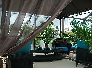 Amazon patio pizazz indoor outdoor patio drapes gazebo