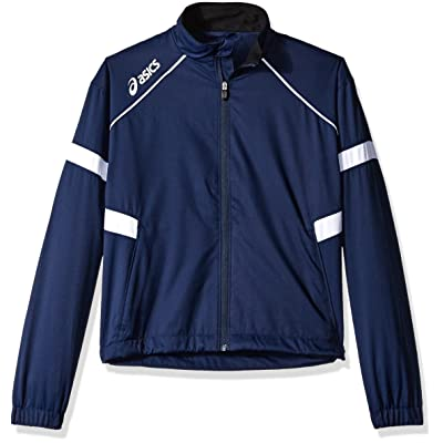 Asics Junior Surge Warm-Up Jacket (Navy/White)