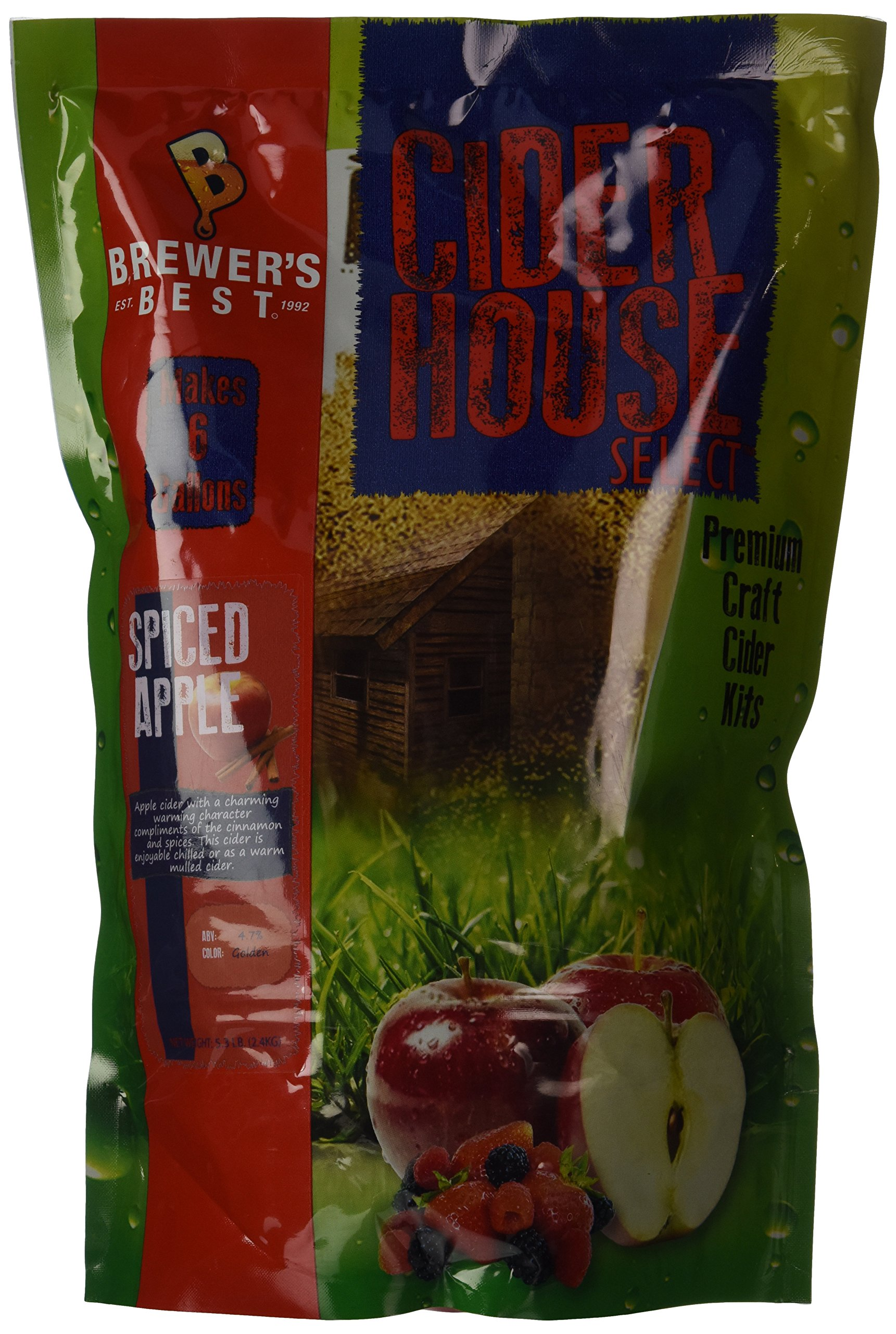 Home Brew Ohio Brewer's Best Cider House Select Spiced Apple Cider Kit