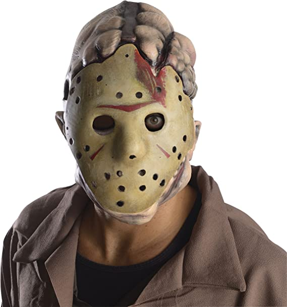 Amazon.com: Máscara doble de Jason de Viernes 13 ...