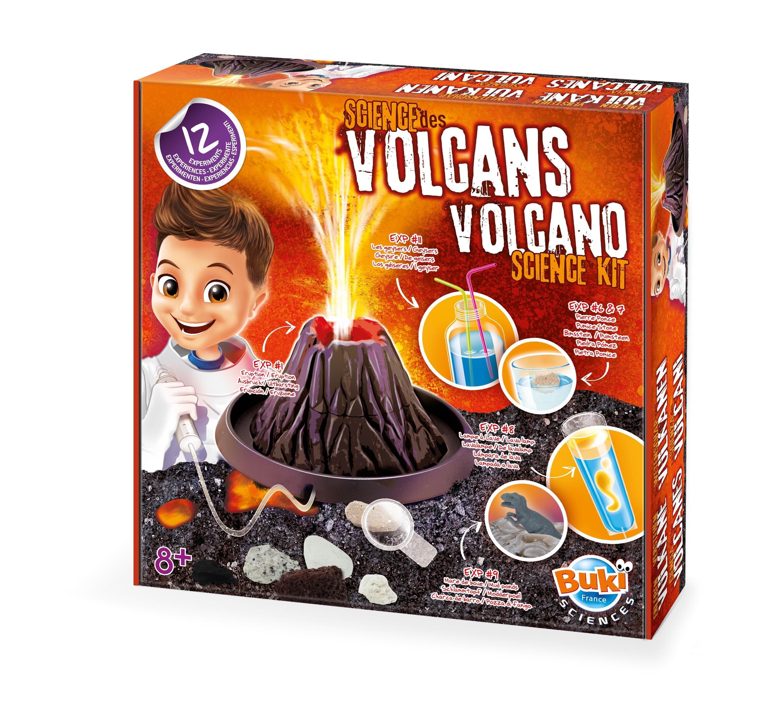 Buki - 2124 - Volcano Science kit France