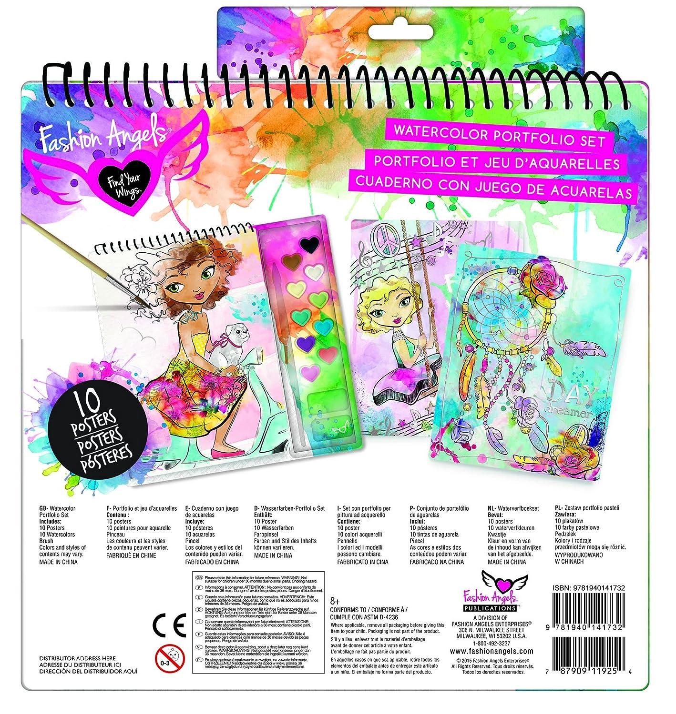 Fashion Angels Watercolor Illustration Set Fashion Angels Enterprises 11925