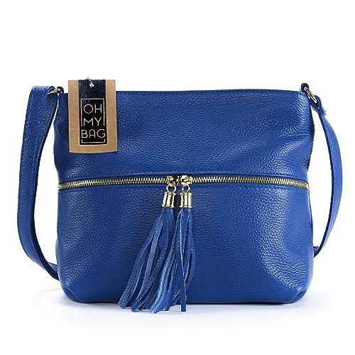 Tracolla Da Mano Bag Oh Modello Pelle In A My O Borsa Donna TZ4Bqw
