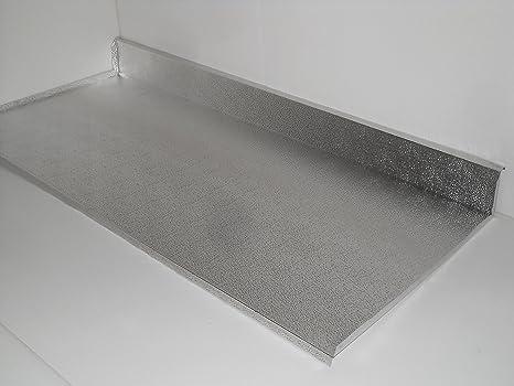 Mobili Cucina Alluminio.Delpa Mobili Protezione Alluminio Sottolavello Base 80cm