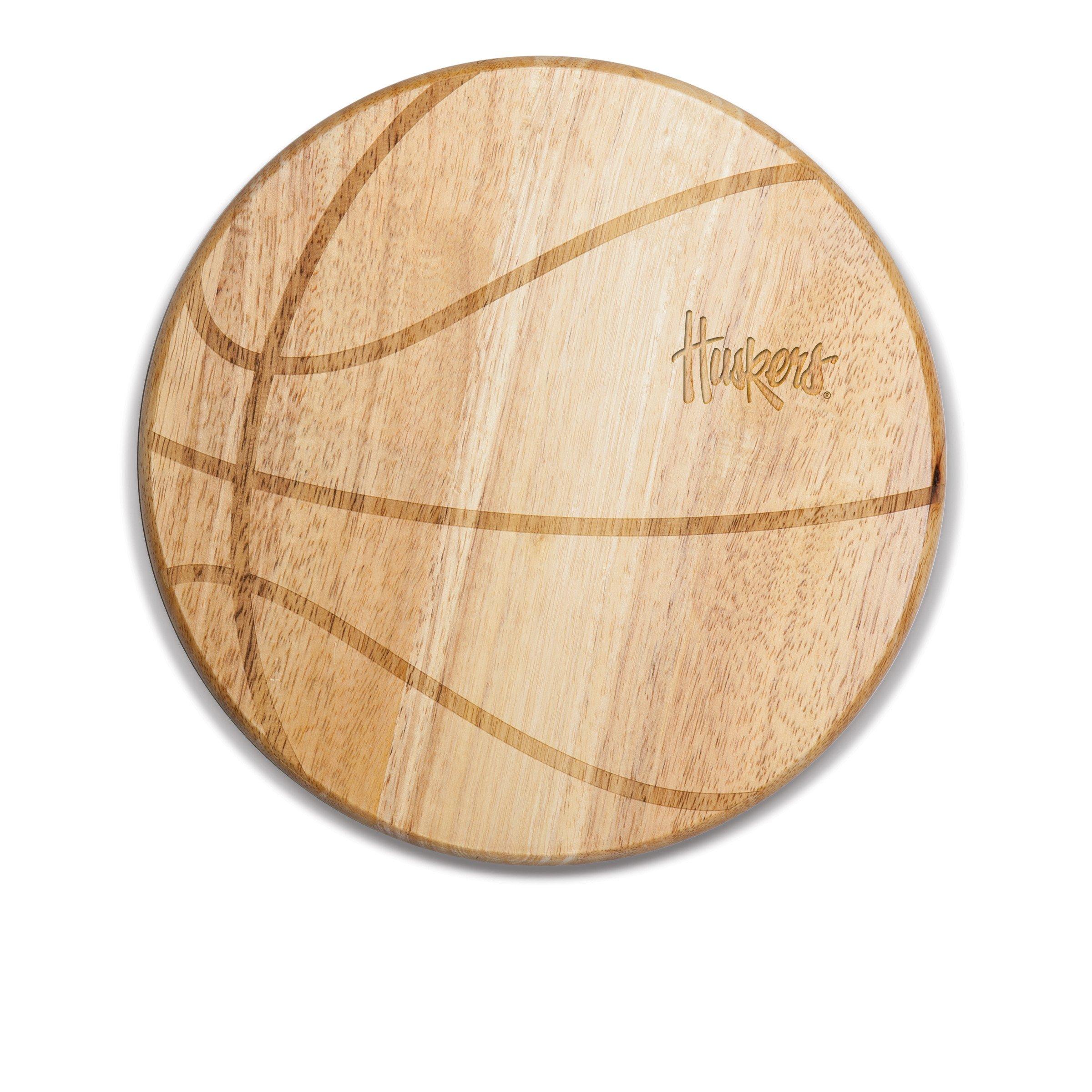 NCAA Nebraska Cornhuskers Free Throw 12-1/2-Inch Cutting Board by PICNIC TIME