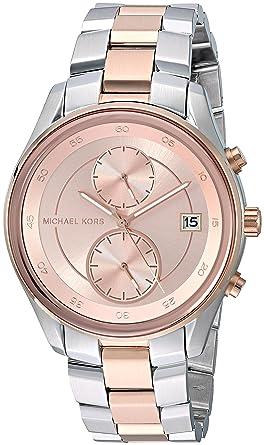 e6a1f7589bb2 Amazon.com  Michael Kors Women s Analog-Quartz Watch with Stainless ...