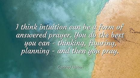 Amazoncom Conrad Hilton Famous Quotes Laminated Poster Print
